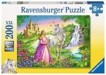 Ravensburger 126132  Puzzle Prinzessin mit Pferd 200 Teile