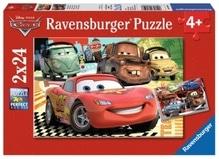 Ravensburger 89598  Puzzle Disney Cars Neue Abenteuer 2 x 24 Teile
