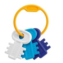 Chicco Schlüsselbeißring, blau