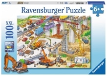 Ravensburger 108961  Puzzle Riesige Baustelle 100 Teile