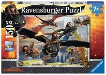 Ravensburger 100156  Puzzle Dragons Drachenzähmen leicht gemacht 150 Teile