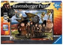 Ravensburger 105496  Puzzle Dreamworks Dragons Ohnezahn & seine Freunde 100 T.