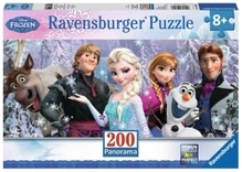 Ravensburger 128013  Puzzle Disney Eiskönigin Arendelle im ewigen Eis 200 T.