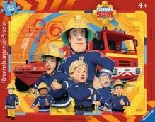 Ravensburger 61143  Rahmenpuzzle Sam, der Feuerwehrmann 33 Teile