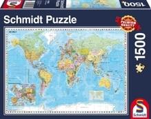 Puzzle Standard 1.500 Teile, Die Welt
