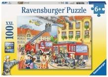Ravensburger 108220  Puzzle Unsere Feuerwehr 100 Teile