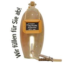 Laux 'Grappa di Valpolicella Amarone' 40 % vol, in verschiedenen Flaschenformen und Mengen!
