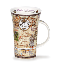Becher - Glencoe - Latin Phrases - 0,5l - Dunoon