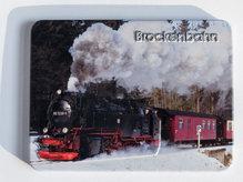 geprägter Metallmagnet - Brockenbahn