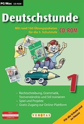 Deutschstunde, 1. Klasse HS und AHS, Übungs-CD-ROM mit Lösungen