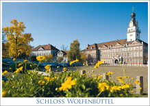Postkarte WF Schloss