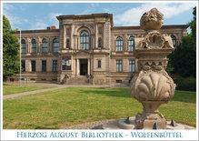 Postkarte WF Herzog August Bibliothek