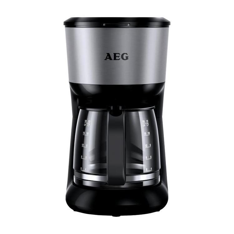 AEG KF 3700 Kaffeemaschine Perfect Morning schwarz/silber