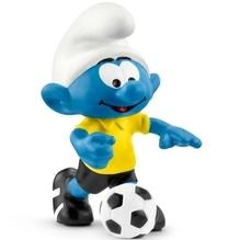 Schleich Die Schlümpfe Fußball Schlumpf mit Ball
