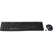 Logitech Tastatur-Maus-Set MK270 920-004511 cordless USB schwarz