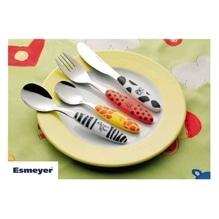 Esmeyer Kinderbesteck SAFARI 199-351 4tlg. Edelstahl poliert