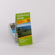 Rad- und Wanderkarte Stauferland
