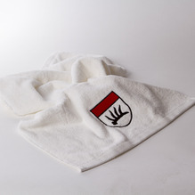 Handtuch mit Stadtwappen