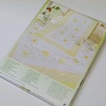 Läufer Stickpackung 45*100 cm Frühling Ostern
