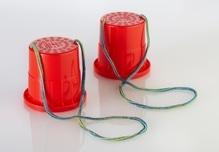 SpielMaus Outdoor Laufdosen Kunststoff, 2-fach sortiert