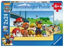 Ravensburger 90648 Puzzle Paw Patrol Heldenhafte Hunde 2x27 Teile