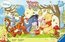 Ravensburger 60184  Rahmenpuzzle Disney Winnie Pooh - Winnies Honigparty 15 T.