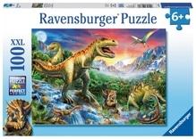 Ravensburger 106653  Puzzle Bei den Dinosauriern 100 Tiele