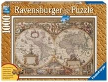 Ravensburger 190041  Puzzle Antike Weltkarte 1000 Teile