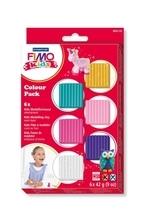 FIMO kids Colour Pack - girlie 6x42g