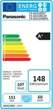 LCD TV TX-60 ASW 804 dark glossy metal
