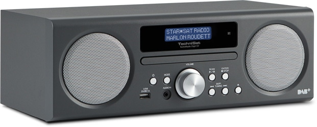 DAB Radio TechniRadio Digit CD, anthrazit