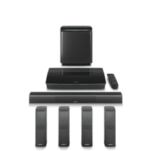 5.1 System Lifestyle 650 home entertainment system, schwarz