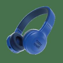 Bügelkopfhörer E45 Bluetooth blau