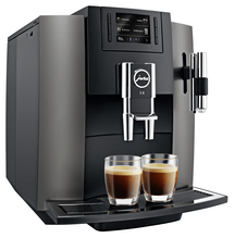 Kaffeevollautomat E8 Dark Inox