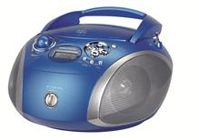 Boombox GRB 2000USB blau/silber