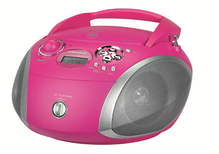 Boombox GRB 2000USB pink/silber