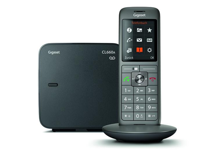 Schnurloses Telefon Cl 660 A anthrazit
