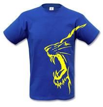 Löwenshirt - blau