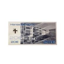 """Geschenkgutschein """"HanseSCHECKS"""" - 20 Euro"""