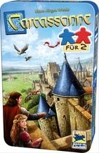 Schmidt Spiele Carcassonne, Für 2 Bring-Mich-Mit-Spiel in der Metalldose