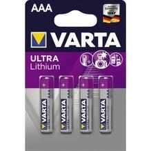 Varta Batterie 6103301404 AAA Micro 1,5V 4 St./Pack.