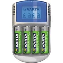 Varta Akkuladegerät Power LCD Charger 57070201451 +4xAA 2.600mAh