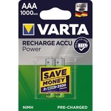 Varta Akku Ready2Use 5703301402 AAA Micro HR03 1.000mAh 2 St./Pack.