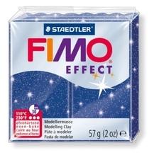 FIMO glitter blau soft effect 57 Gramm