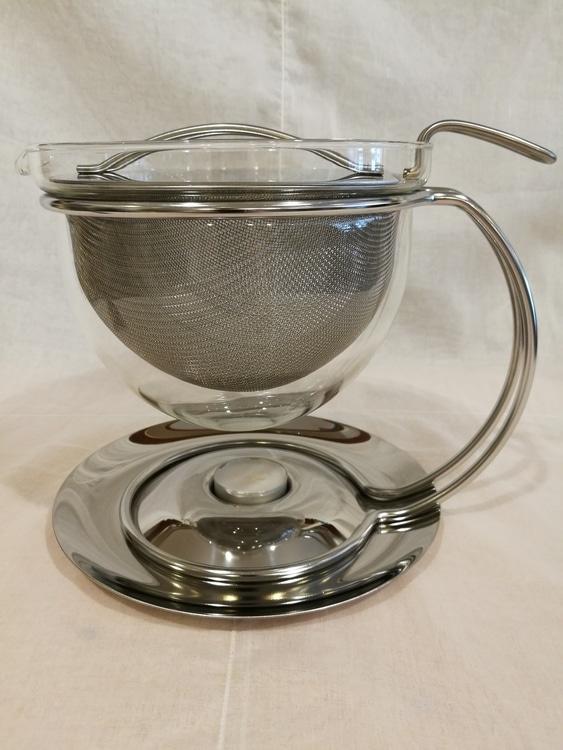 Teekanne filio mit integriertem Stövchen 1,5l  Art.Nr. 44/500