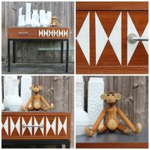 Schrank, Schränkchen, Kommode, Sideboard, Anrichte, Vintage, Holz, Danish
