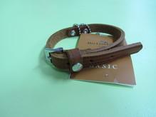 Halsband Weinheim Kastanie, Länge 32cm