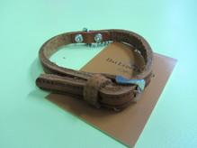 Halsband Weinheim Kastanie, Länge 27cm