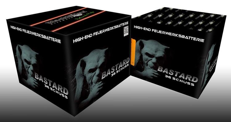 Bastard 36 Schuss Multi-Effekt-Feuerwerksbatterie