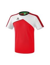 Sport-T-Shirt Erima Teamline Premium One 2.0 Farbe: rot/weiß/schwarz 1081802
